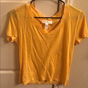 Yellow casual tshirt